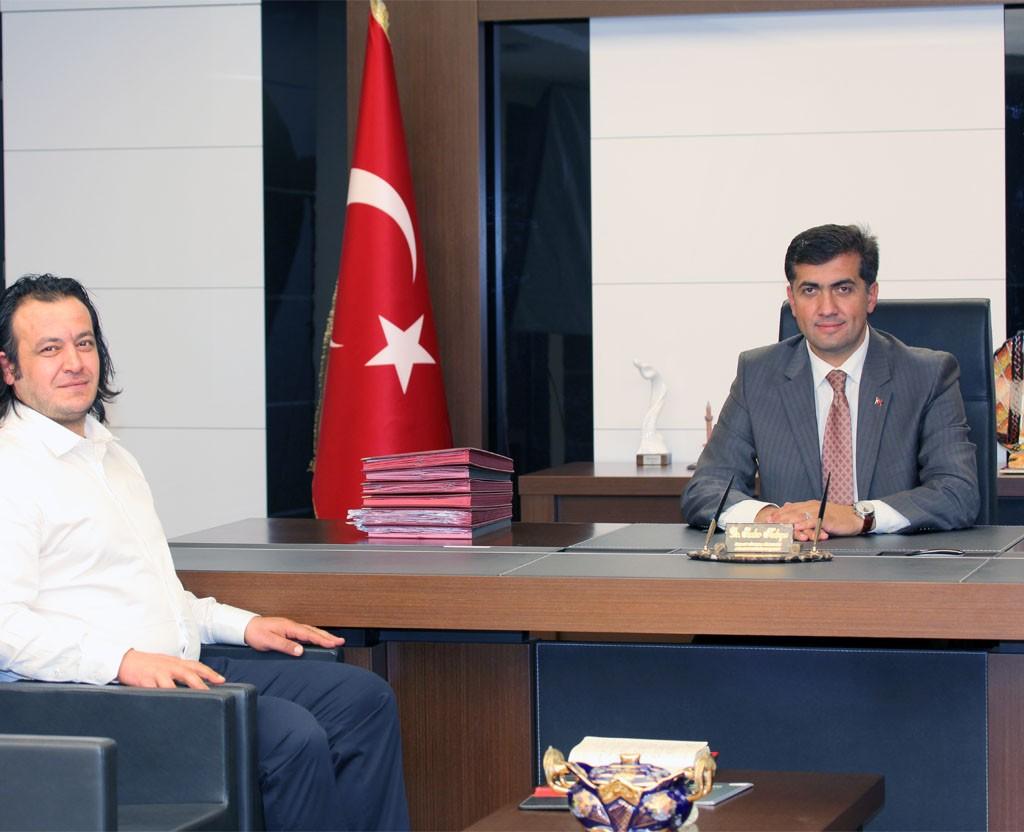 Meram Belediye Başkanı Dr. Serdar Kalaycı
