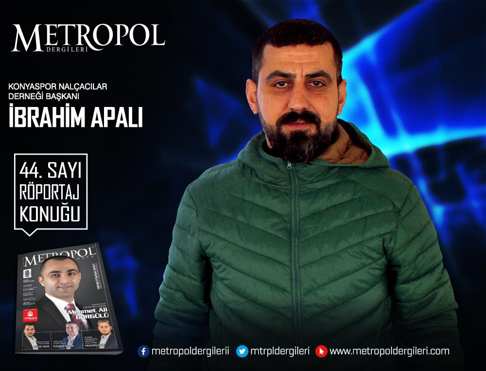Konyaspor Nalçacılar Derneği Başkanı İbrahim APALI