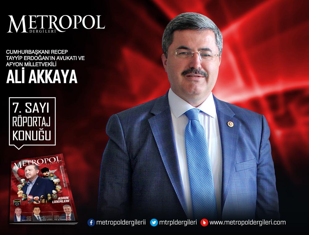 Cumhurbaşkanı Recep Tayyip Erdoğan'ın Avukatı ve Afyon Milletvekili Ali AKKAYA