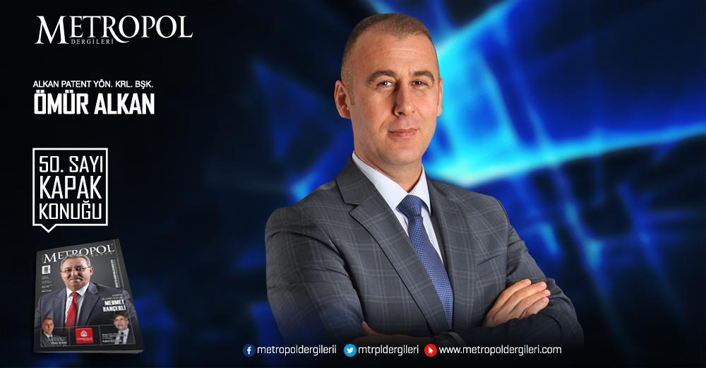 Alkan Patent Yönetim Kurulu Başkanı Ömür ALKAN