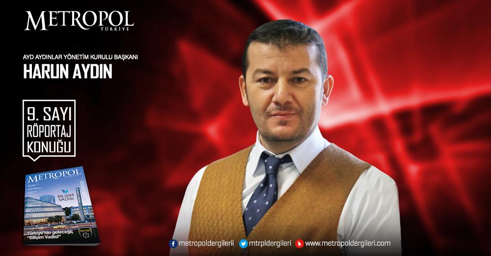 AYD Yönetim Kurulu Başkanı Harun AYDIN