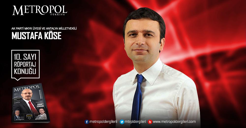 Ak Parti Mkyk Üyesi Ve Antalya Milletvekili Mustafa KÖSE